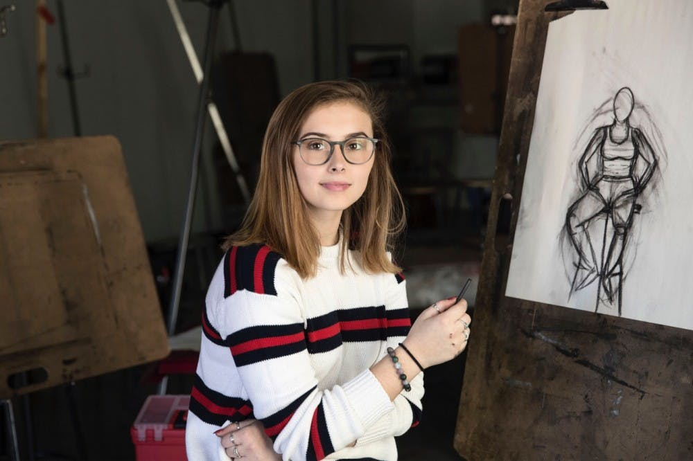 <p>Emma Hitchcock, one of the co-founders of Art for the Heart, used her passion for art to help break down the social stigma again homelessness.</p>