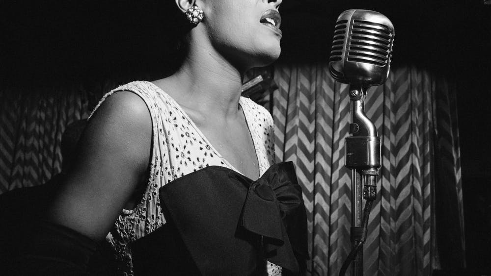 """Billie Holiday recorded her rendition of """"Strange Fruit"""" with Commodore Records after her label, Columbia Records, denied her recording request."""