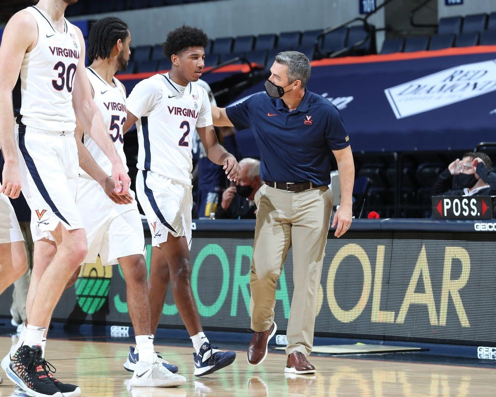 <p>Despite allowing Notre Dame to shoot 21 free throws, the Cavaliers pulled off their fifth-straight win over the Fighting Irish.&nbsp;</p>