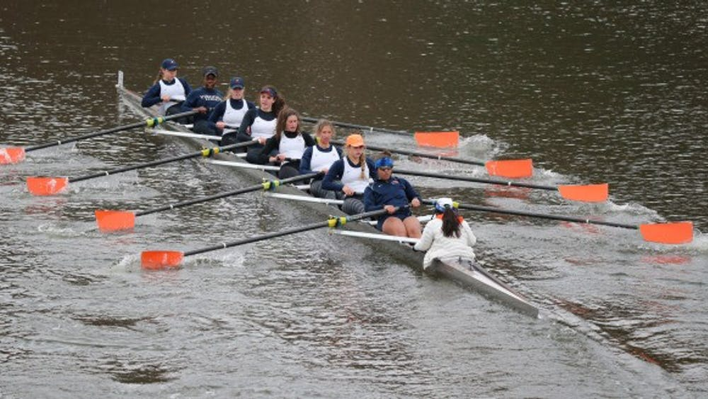 Virginia won 10 of 12 dual races in Redwood Shores, California despite stiff competition from No. 4 California and No. 5 Stanford.