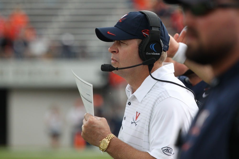 <p>As Coach Bronco Mendenhall enters his fourth season with Virginia, the Standard is no longer new.</p>