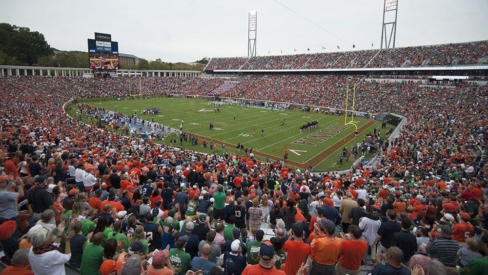 Of the athletic department's four total cases, three are Virginia football players.
