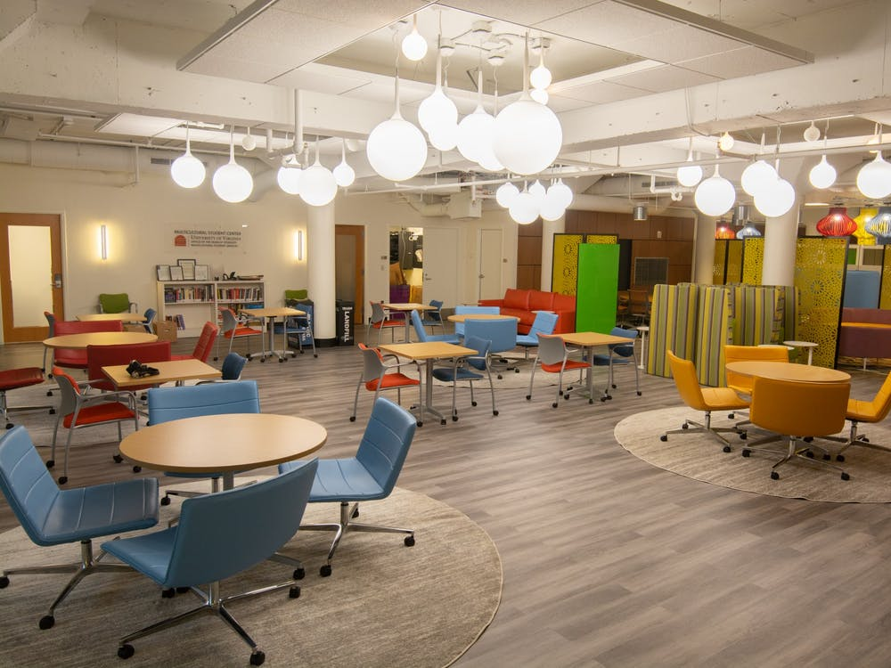 The University's decision to relocate the MSC and LGBTQ Center and open the new Latinx and Interfaith Centers was initiated in June 2019 as part of the 10-year strategic plan project. (Riley Walsh // CD Photo)