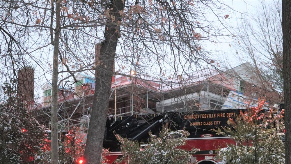 The Charlottesville City fire department responded to the incident and quickly extinguished the fire.