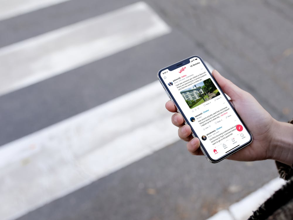 The app is not endorsed by the University's safety plan, but an invitation to join was sent to student emails this month.