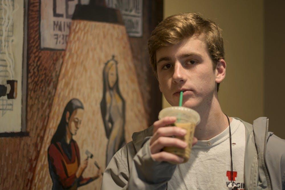 <p>Whenever I go to Starbucks, despite the temperature outside, I will order a Vanilla Iced Coffee™.</p>