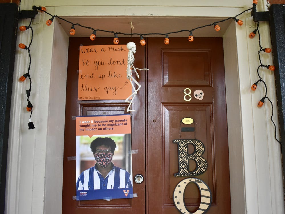 Lawn residents have been able to use their doors as a platform for advocacy.