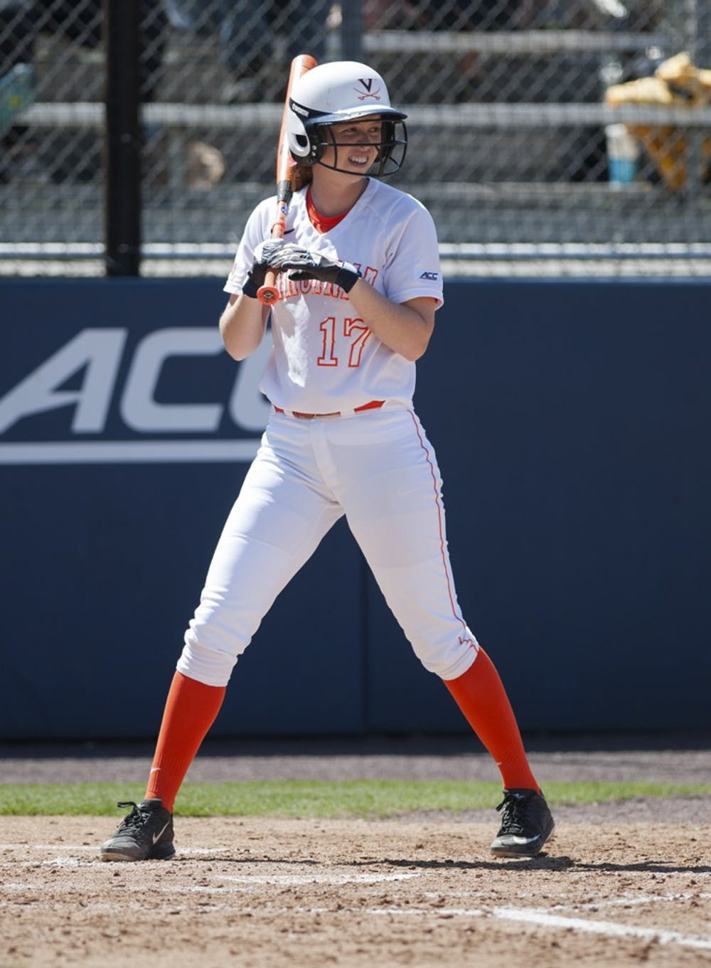 <p>Sophomore first baseman Kaitin Fitzgerald leads Virginia with a .364 batting average and 39 RBI. The Cavaliers must win all three games against Syracuse this weekend — and get some help from Georgia Tech — to gain postseason eligibility. </p>