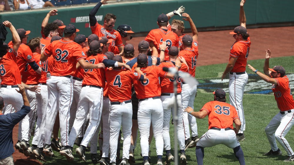 The team embraced Michaels with open arms and a celebratory huddle after his first home run of the season.