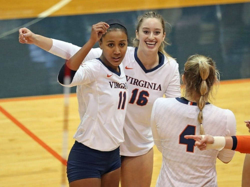 Sophomore middle blocker Milla Ciprian led Virginia with 16 kills against NC State and totaled 22 kills over the two matches.