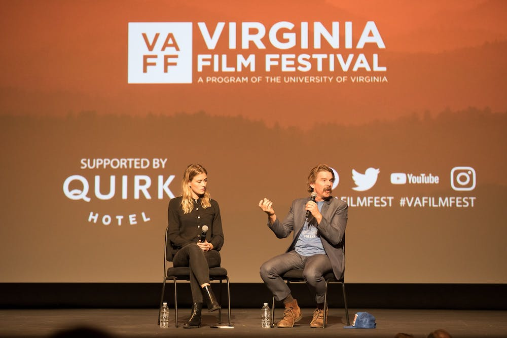 """The panel for """"The Good Lord Bird"""" included Ethan Hawke, who produced and co-created the show as well as playing John Brown. Hawke was a guest at last year's Virginia Film Festival."""