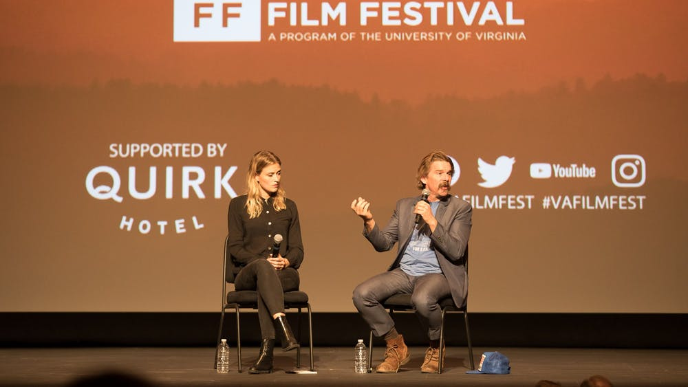 "The panel for ""The Good Lord Bird"" included Ethan Hawke, who produced and co-created the show as well as playing John Brown. Hawke was a guest at last year's Virginia Film Festival."