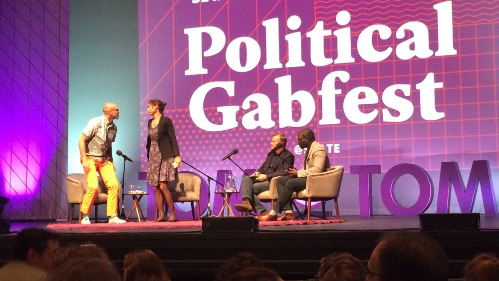 The live podcast was hosted by Emily Bazelon, a contributor to The New York Times, John Dickerson, co-host of CBS This Morning, and David Plotz, editor-in-chief of Atlas Obscura.