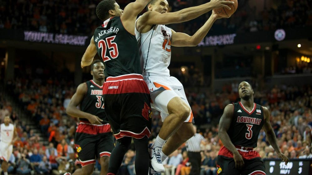 Brogdon played 38 minutes and led Virginia with 15 points. He made two free throws with 10 seconds to play, icing the game.