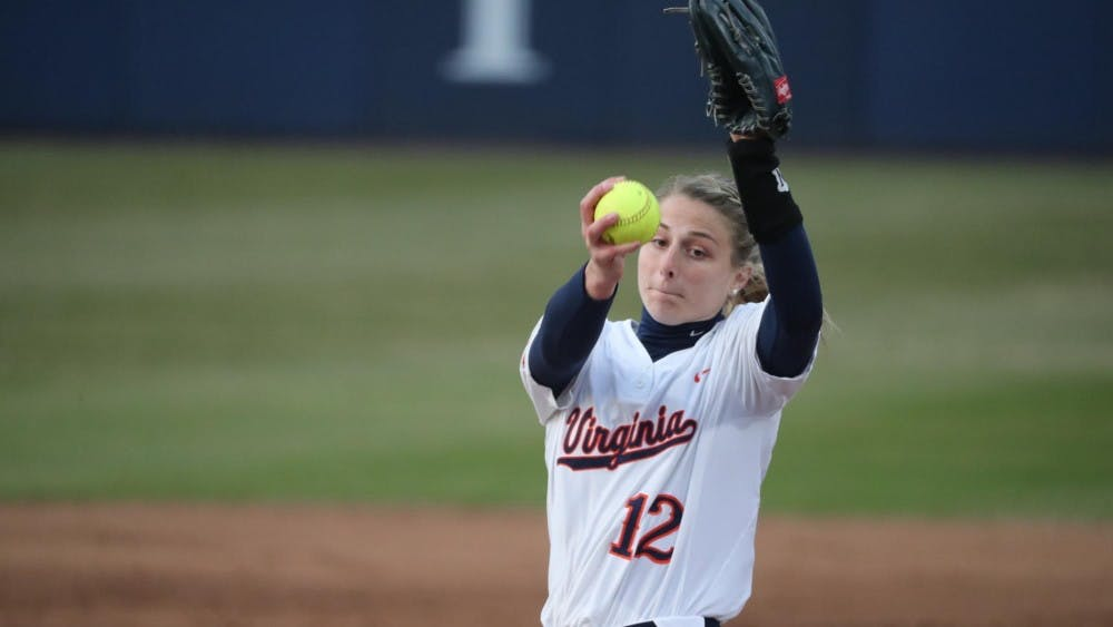 <p>Senior pitcher Allyson Frei had the save for the Cavaliers, securing their victory.</p>