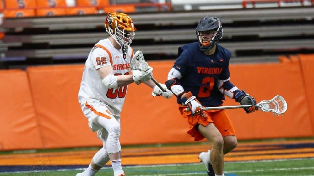 <p>Junior attackman Michael Kraus led all players with six points including three goals and three assists.&nbsp;</p>