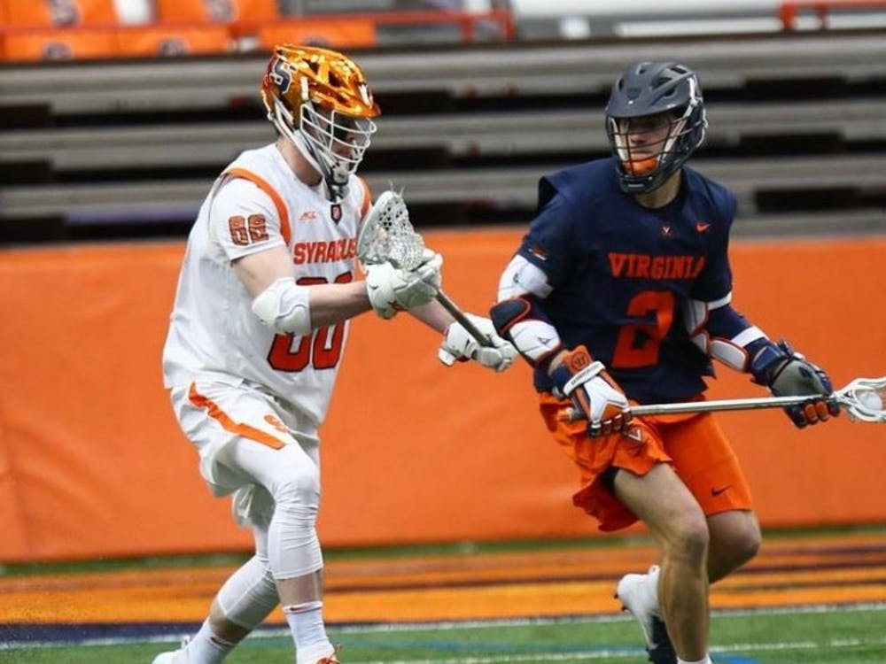 Junior attackman Michael Kraus led all players with six points including three goals and three assists.