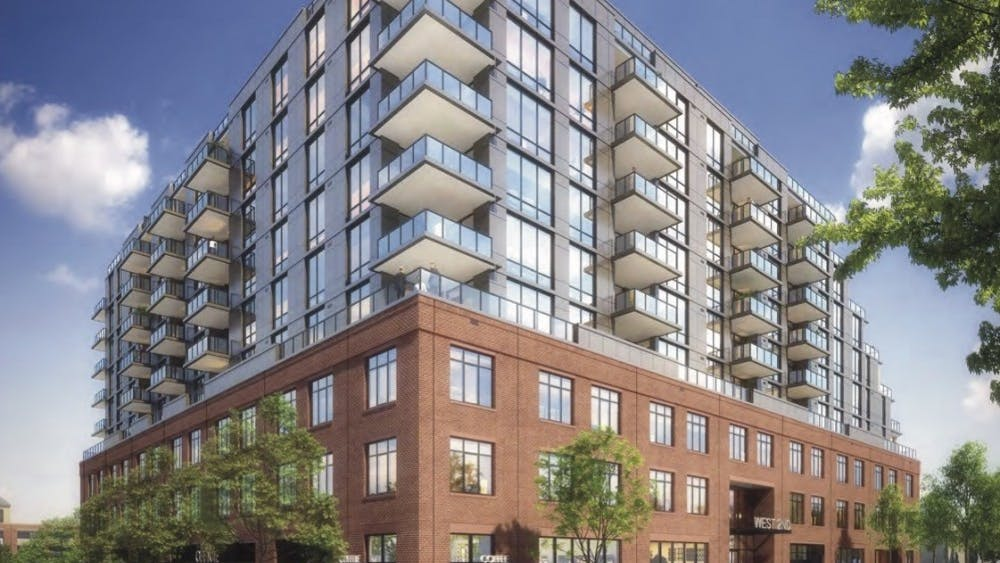 West2nd is a mixed-use development on Water Street, including luxury condos and a space for the City Market.