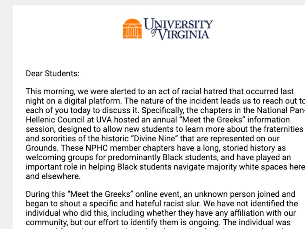"In their email condemning the incident, Groves, McDonald and Apprey said that the University's NPHC chapters are ""no strangers to being targeted by racist hatred."""