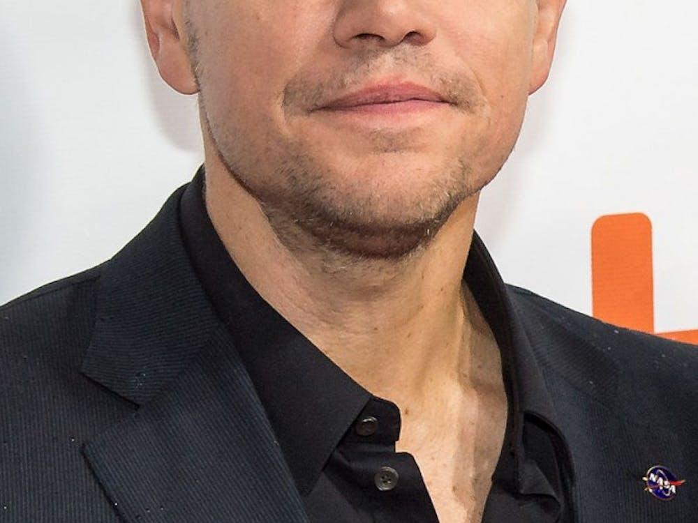 Matt Damon, one of five white Best Actor nominees for 2016