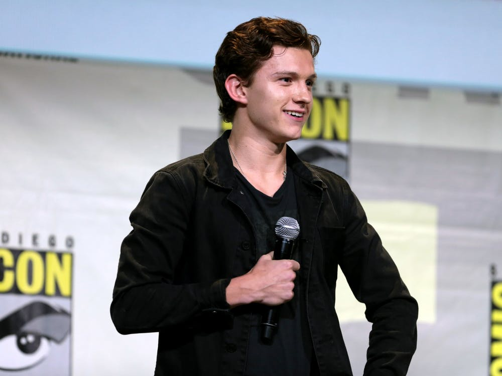"British actor Tom Holland, best known for his role as Spiderman in the Marvel franchise, stars in Pixar's newest family film ""Onward."""