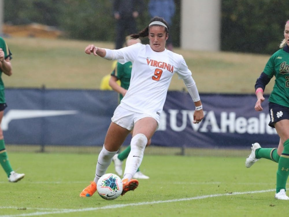 Freshman forward Diana Ordoñez leads Virginia with 13 goals.
