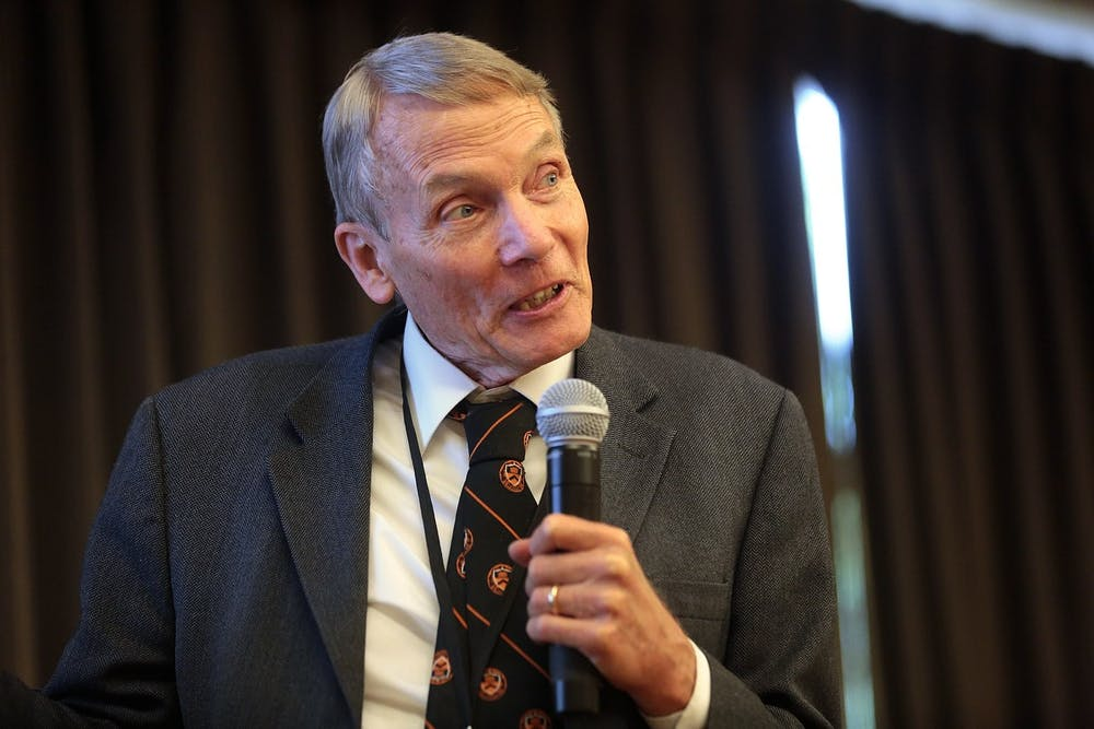 <p>William Happer's outrageous justification for questioning the science behind the climate problem plaguing our planet is a desperate attempt to distract the American people from the crisis at hand.&nbsp;</p>