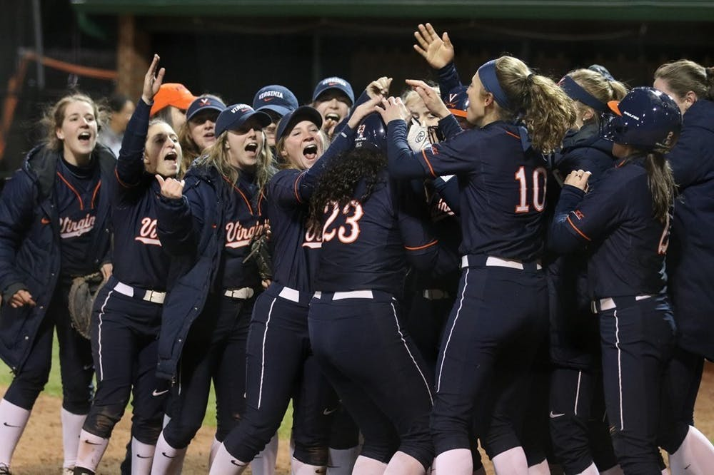 <p>Sophomore Donna Friedman launched her first home run of the season to give Virginia the lead in the 11th inning against Charlotte Friday night.&nbsp;</p>