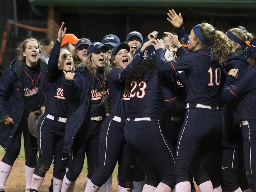 Sophomore Donna Friedman launched her first home run of the season to give Virginia the lead in the 11th inning against Charlotte Friday night.