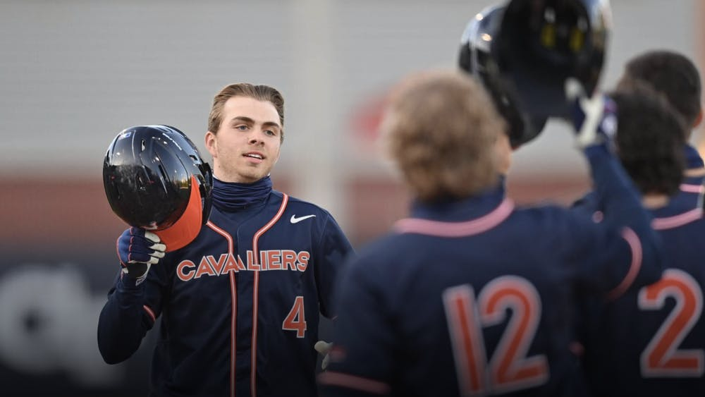 Kent's grand slam in the second game against Georgia Tech was Virginia's fifth grand slam in its last 43 games.