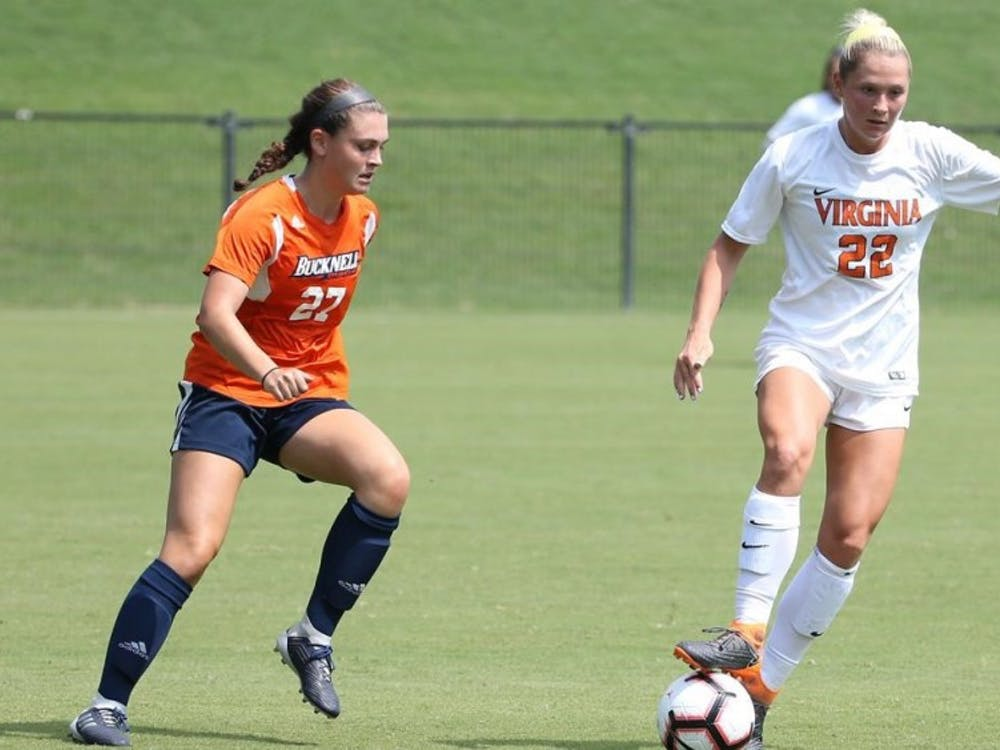 Junior forward Meghan McCool was the only Cavalier to score in Virginia's 2-1 loss against Baylor.