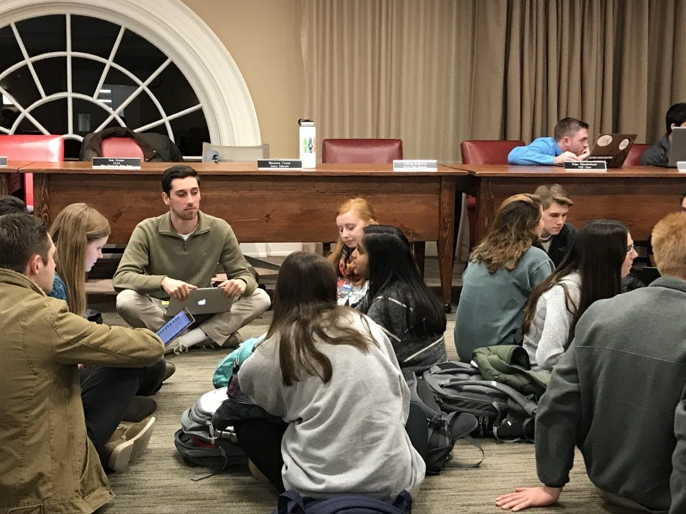 <p>At their meeting Sunday, UJC Members discussed the implications of implicit bias in their role as adjudicators for students who violate the University's Standards of Conduct.&nbsp;</p>