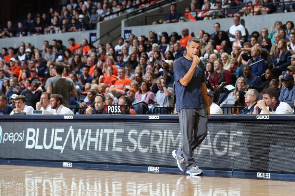 Virginia basketball holds annual Blue-White Scrimmage