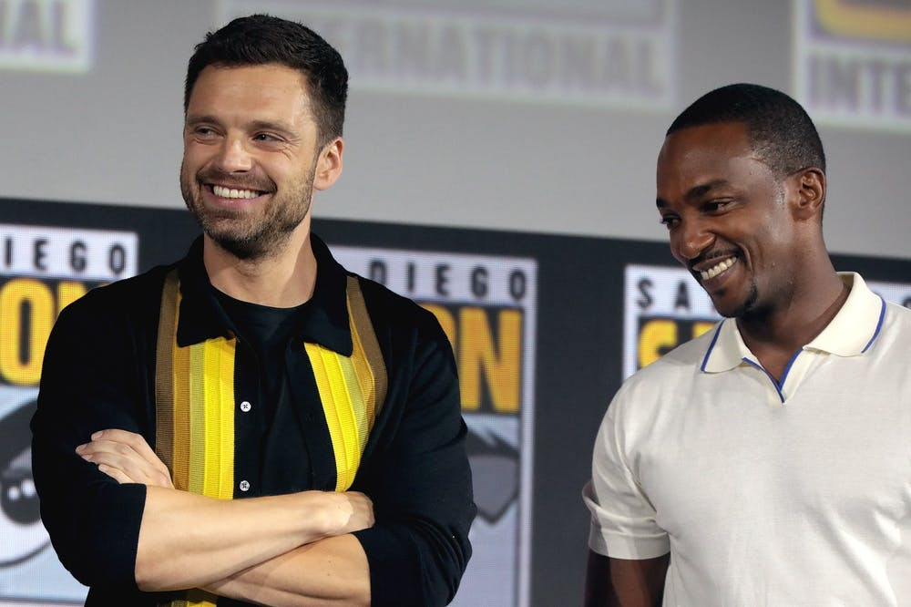 """<p>""""The Falcon and the Winter Soldier"""" debuted on March 19, 2021, on Disney+.</p>"""