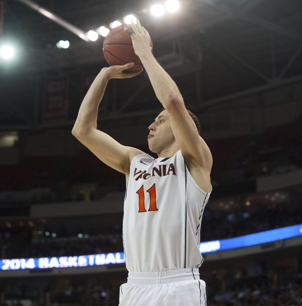 <p>Sophomore forward Evan Nolte scored 8 points in 11 minutes off the bench in Virginia&#8217;s 70-59 win against Coastal Carolina.</p>