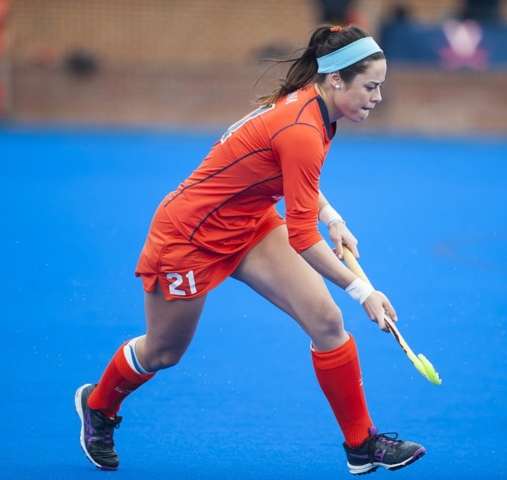 <p>Senior striker Riley Tata&nbsp;comes into her last season as a Cavalier&nbsp;after being second on the team last season with 14 goals.&nbsp;</p>