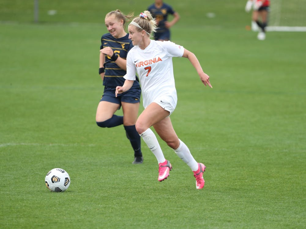 Junior forward Alexa Spaanstra had two goals for the Cavaliers.