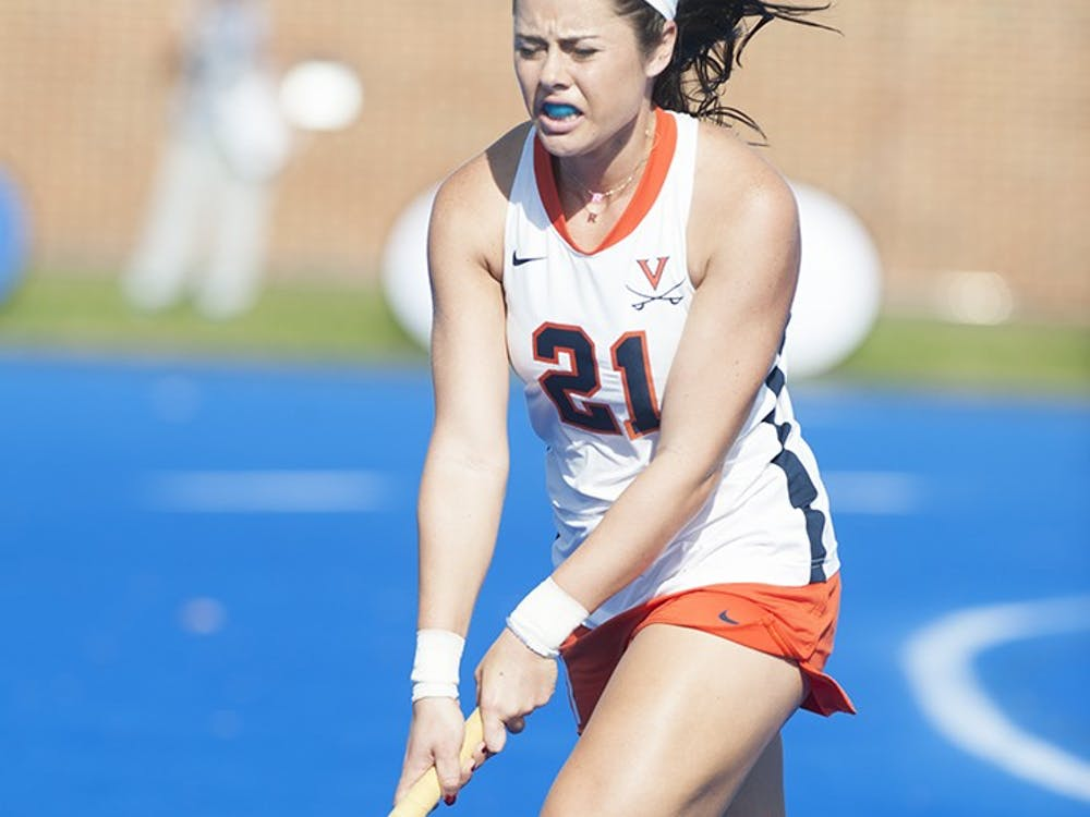 Senior striker Riley Tata scored a pair of first half goals in Virginia's 5-1 win against Miami (OH).