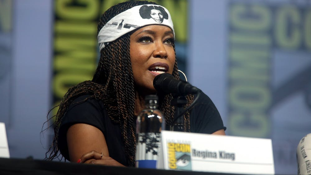 """Actress Regina King, seen here at San Diego Comic Con in 2018, leads the strong cast of """"Watchmen"""" in a satisfying season finale for the HBO series."""