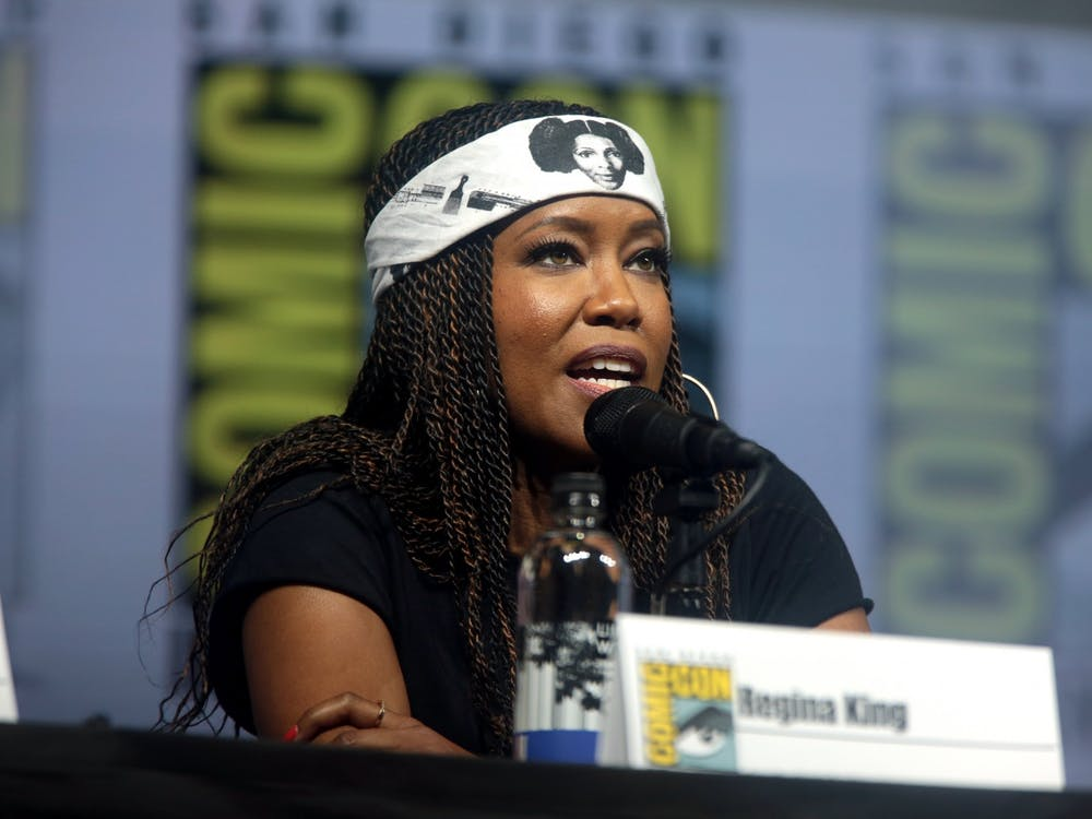 "Actress Regina King, seen here at San Diego Comic Con in 2018, leads the strong cast of ""Watchmen"" in a satisfying season finale for the HBO series."