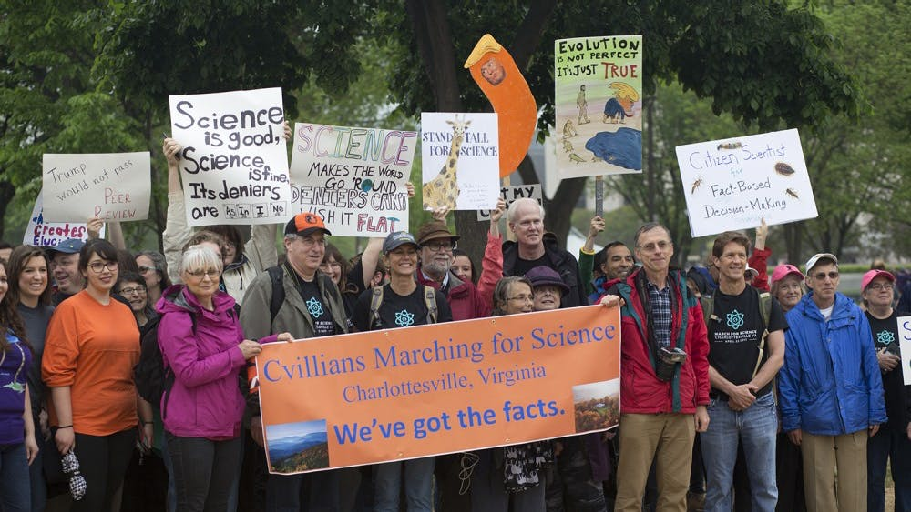 """143 """"Civilians"""" took to the streets of D.C. on Earth Day in the name of fact-based policy."""