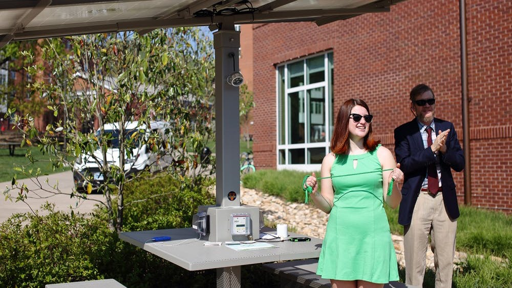 Fourth-year Engineering Student Tatiana Sokolova, who led the project, said the table will be a useful resource for students.