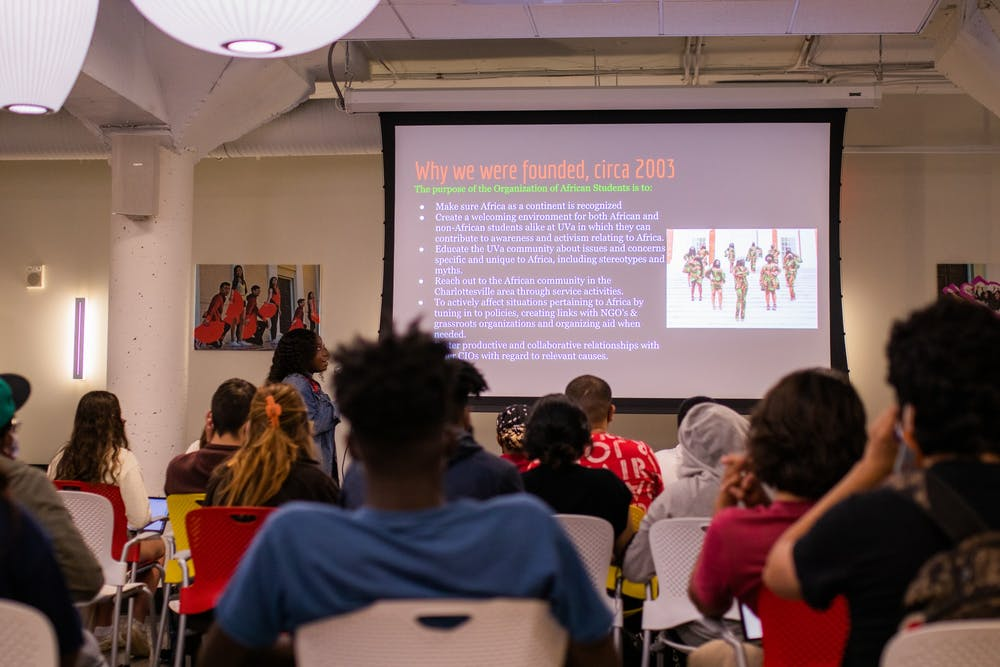 <p>Johnson, a first-generation Ghanaian-American, has been involved with OAS since her first year at the University.</p>