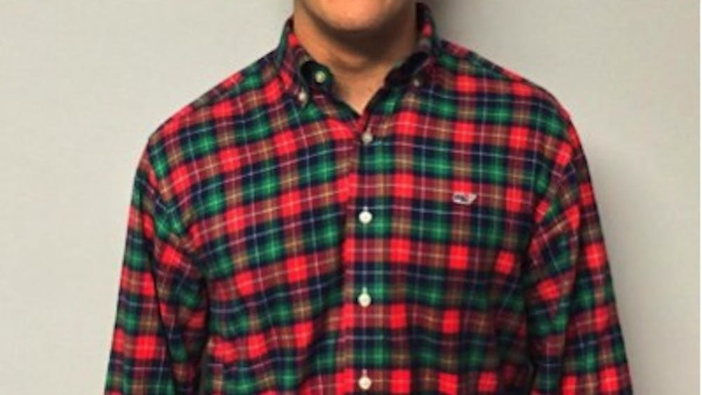 """ZaneYear: FirstMajor: EconomicsU.Va. Involvement: First Year Council, Alpha Kappa Psi, TEDxUVA, Salsa ClubHometown: Oakton, Va.Ideal date personality: Humorous, enjoys fist bumpsIdeal date activity: Making dinner that the two of us eatDealbreakers?: NoneHobbies: Rock climbing, working out, listening to music, Spanish dance, making food What makes you a good catch?: I give killer high fives, tell good jokes, make awesome eye contact and love to dance in public. Also, I dress well.What makes you a less-than-perfect catch?: Shorter than your average Virginian, prone to using phrases such as """"dude"""" and """"word"""" What is your spirit animal?: Peacock or a kiwi (fruit), tan and hairy on the outside, sweet on the insideWhat is your favorite pick-up line?: Hey, we aren't friends yet but what's your name?Describe yourself in one sentence: Stop it, that's my tickle spot."""