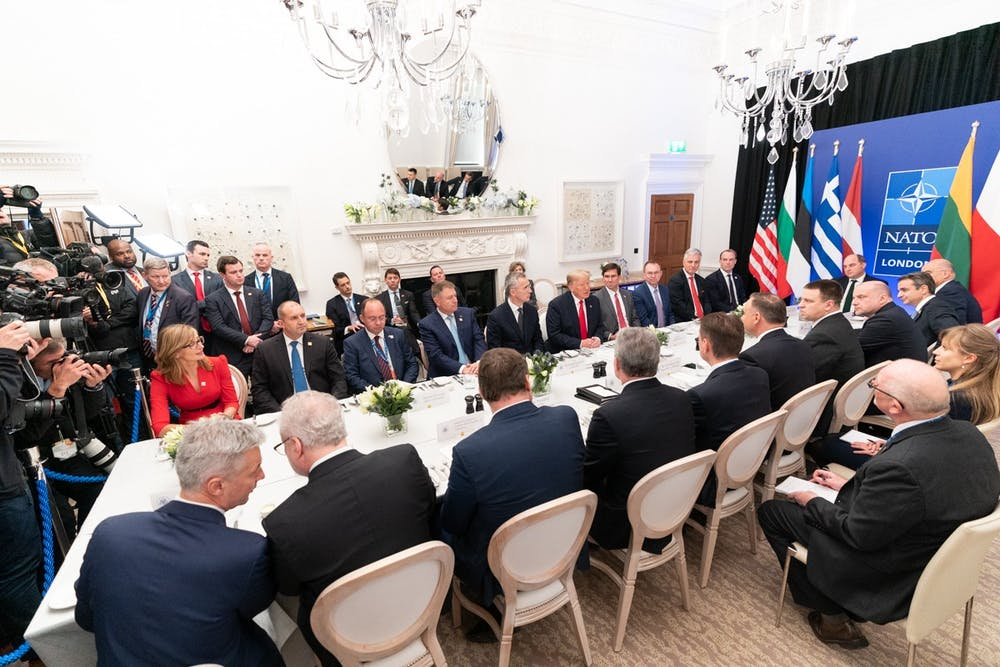 <p>Trump puts our foreign policy objectives and the West at risk every day with his shoddy and dangerous administration.</p>
