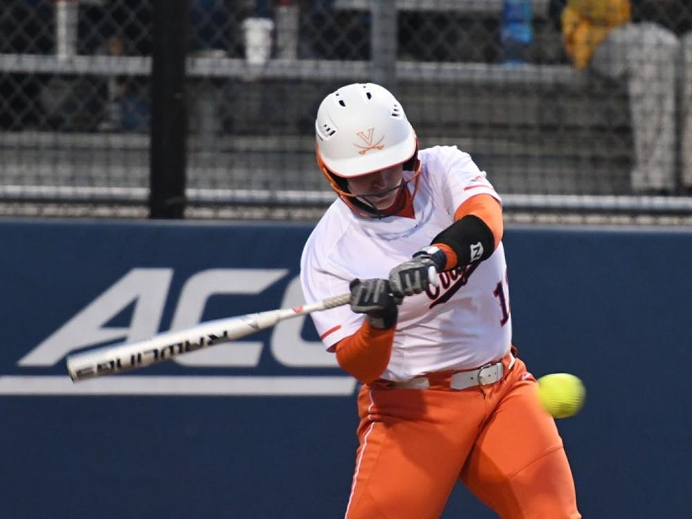 Senior catcher Katie Park homered in Virginia's10-4 win over North Carolina.