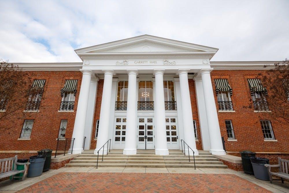 <p>Garrett Hall is home to the Batten School of Public Policy.&nbsp;</p>