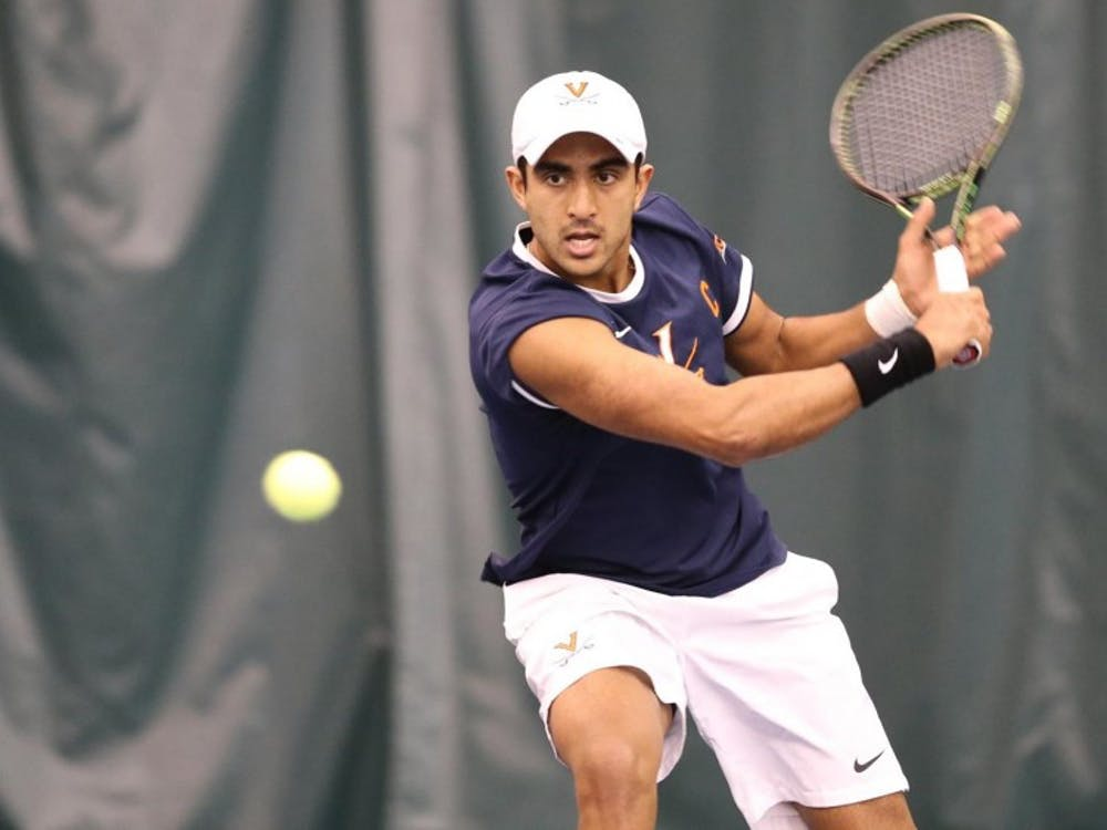 Senior captain Aswin Lizen clinched the victory for the Cavaliers against Southern California.