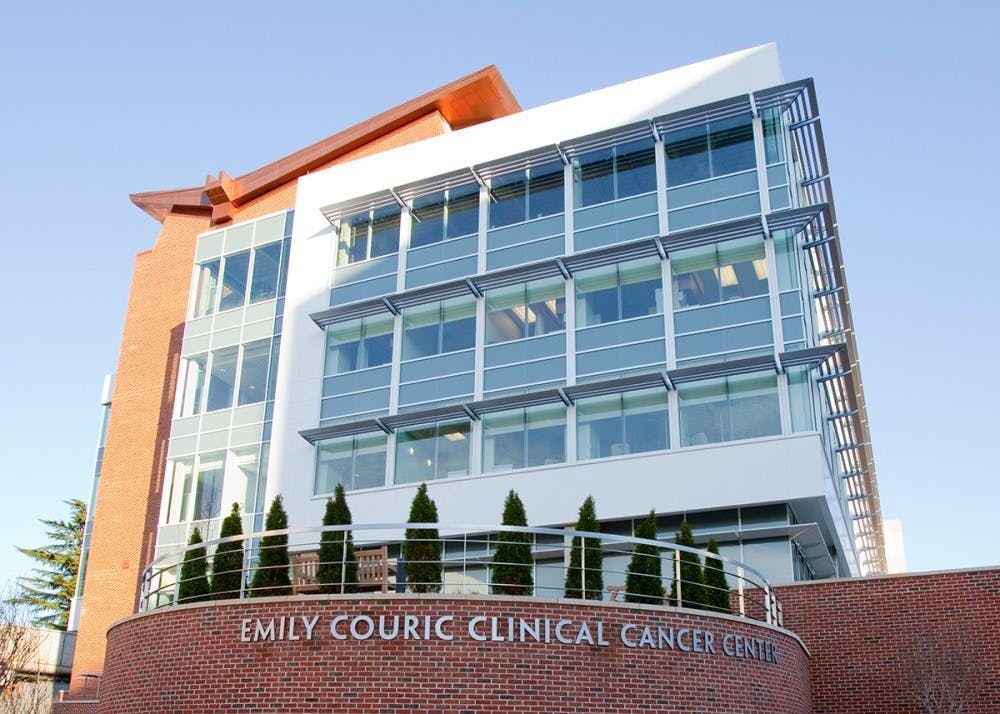 <p>The University's Cancer Center is one of 71 centers in the United States designated by the National Cancer Institute to conduct clinical, scientific and population research in an effort to create innovative methods of combating cancer.</p>