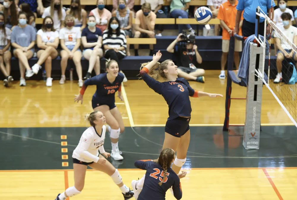 <p>After its loss to Pittsburgh, Virginia is 0-8 in matches against teams ranked in the top five.</p>